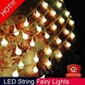 10 m 100 LED String luz de Navidad Año Nuevo Garland Decoraciones Para El Hogar Guirnalda Luces De LED Luces de Navidad Al Aire Libre Navidad