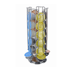 2019 Coffee Pod Holder Rotating Rack Coffee Capsule Stand Capsules Storage For 24 PCS Dolce Gusto Capsule Free Shipping