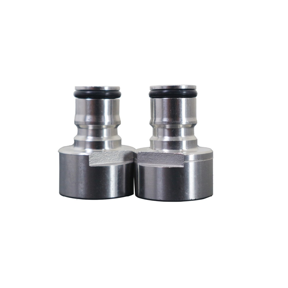 Stainless Steel Keg Coupler Adapter FPT 5/8 Thread Ball Lock Quick Disconnect Conversion Kit Gas & Liquid Posts For Home BrewingStainless Steel Keg Coupler Adapter FPT 5/8 Thread Ball Lock Quick Disconnect Conversion Kit Gas & Liquid Posts For Home Brewing