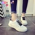 2016 chegada nova marca de moda sapatos casuais mulheres sapatos de laço sapatos casuais