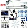 Carro/Caminhão Frente 2-portas Elétrica Kits de Janela de Poder com 3 DC24V # CA2979 pçs/set Switches & Harness
