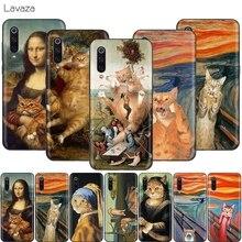 Lavaza Funny Cat Art Aesthetics Painting Case for X
