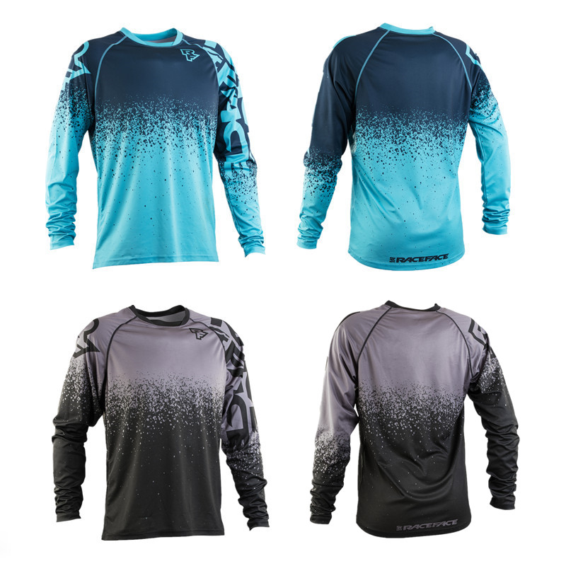 2018 Summer long sleeve cycing jersey speed surrouding outdoor bike sports off-road riding T-shirt