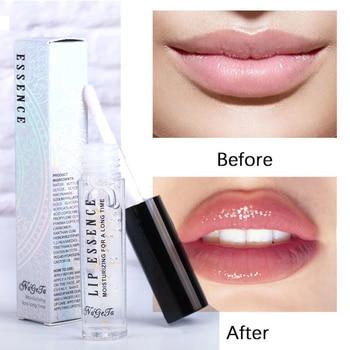 Lip Plumper líquido 24k oro rosa, almohadilla para el cuidado de los labios, hidratante, esencia, antiarrugas, Gel parche, Realzador de labios