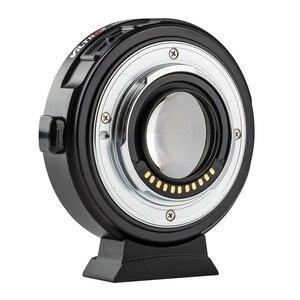 Image 2 - Viltrox EF M2 II Focal Reducer Booster Adapter Auto fokus 0,71 x für Canon EF mount objektiv M43 kamera GH5 GH4 GF7GK GX7 E M5 II