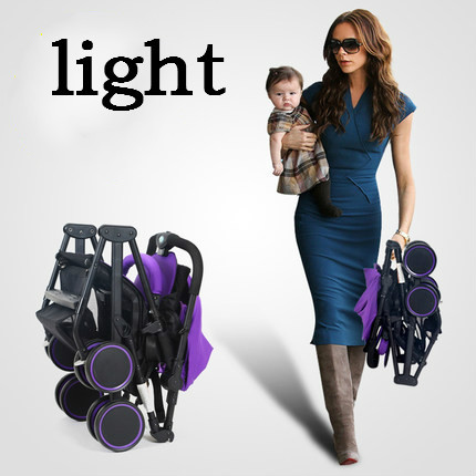 2016 new super lightweight strollers can sit lie folded portable and pocket on the plane to travel umbrella stroller car