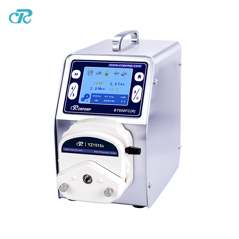 Russian Version High Precision E-liquid Bottle Filling Peristaltic Pump