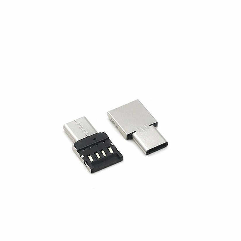 HIPERDEAL USB C vers USB A 3.0 adaptateur convertir connecteur Premium aluminium pour MacBook Pro téléphone # D
