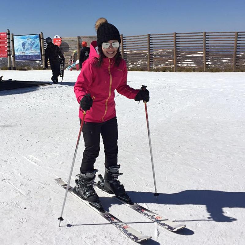Prix pour Vector ski costume femmes professionnel thermique coupe-vent imperméable ski costume femmes hiver ski veste + pantalon snowboard 60031