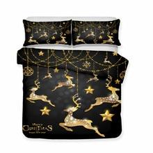 3D Bedding Set Christmas Print on sale now