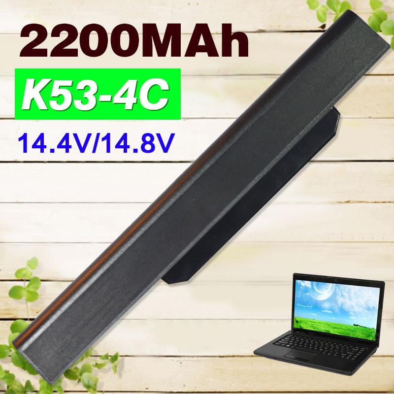 14.4V Laptop Battery for Asus K53S A32 k53 A42-K53 A31-K53 A41-K53 A43 A53 K43 K53 X43 X44 X53 X54 X84 X53SV X53U X53B X54H