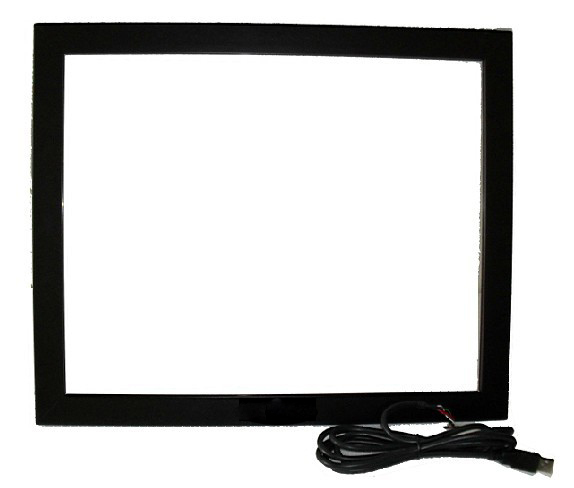 FAST Shipping 19 Infrared multi touch screen overlay (2 points) with High-sensitivity for Touch Monitor
