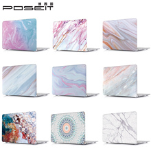 цены Colored marble pattern Hard Case + black Keyboard Cover For New Macbook 12 inch Retina A1534 laptop
