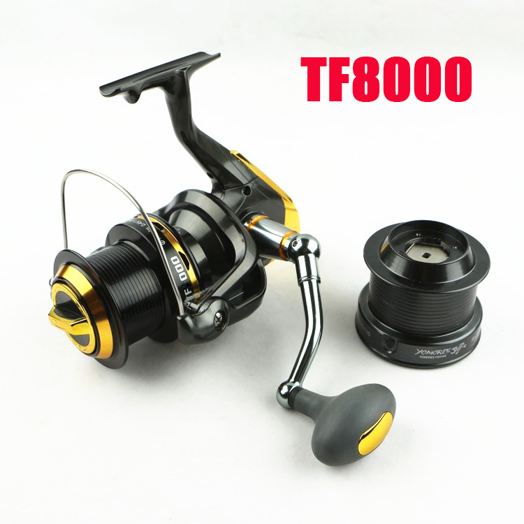 Free Shipping Top quality Big game 8000 series spinning 12+1 BB fishing reel.4.7:1 .TF8000 image