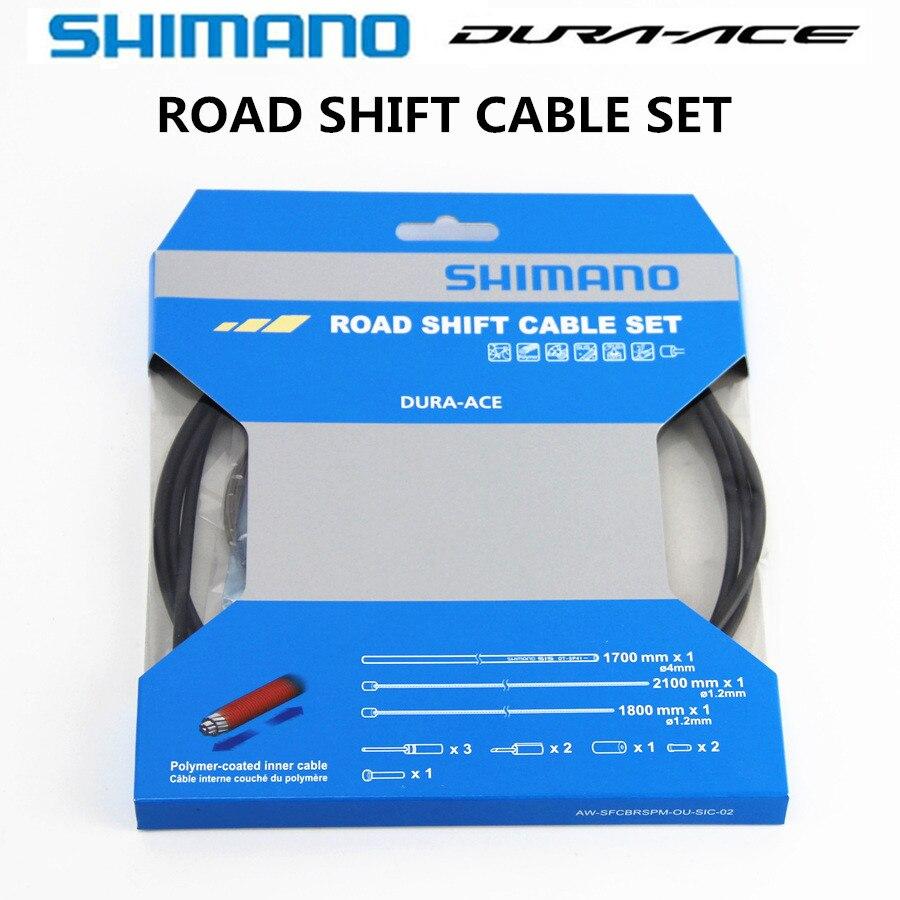Câble de changement de route SHIMANO Dura Ace ULTEGRA R8000 105 5800 4700 R9100 9000 OT SP41 jeu de câbles de changement de route boîtier extérieur reflex-polymère