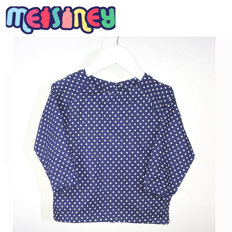 Wash Burp Cloths Before Use: Baby Care Long Sleeve Overclothes Wearing For Eating Clean