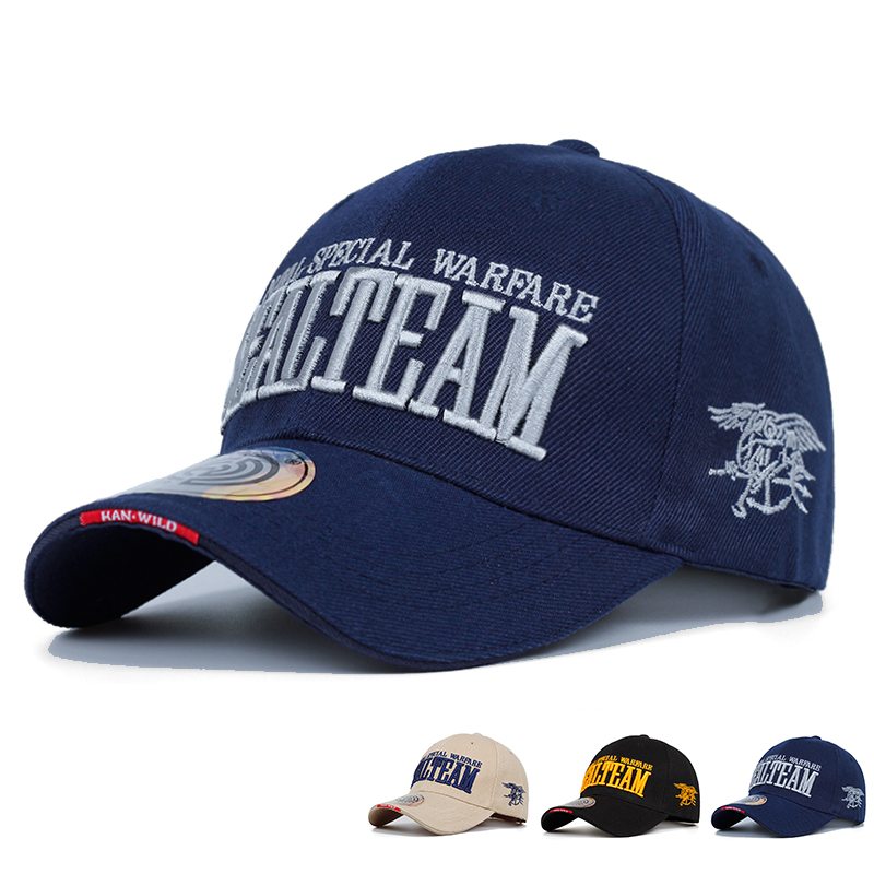 2019 New Arrivels US Navy Seal Team Tactical Cap Mens Army Baseball Cap Brand Gorras Adjustable Bone Snapback Hat