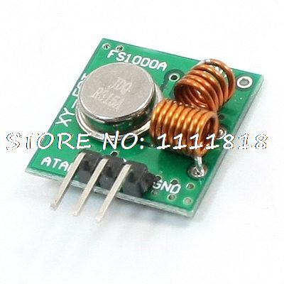 15mA 315MHZ DC3-12V Single Shot Wireless Send Module FS1000A