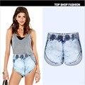 Women Summer Jean Shorts Denim Shorts High Waist Shorts Jeans Women'S Denim Shorts Pantalones Cortos Mujer Ws978