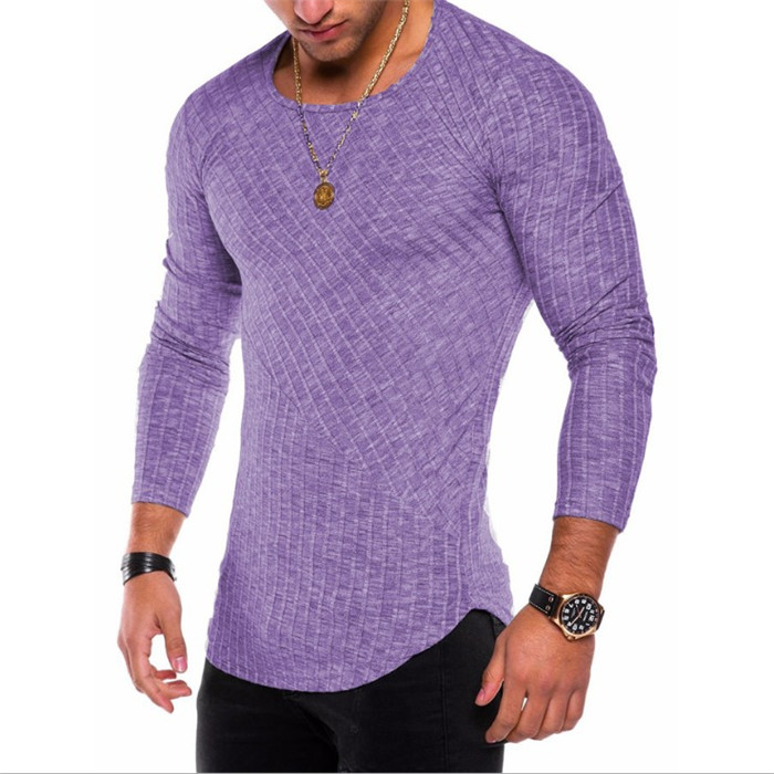New Mens Muscle Sweater Thin O-Neck Knitted Pullover Solid Drop Shipping Brand Sweaters Men Casual Top Clothes Plus Size 4XL
