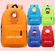 South Park Mochila Bolsa de Ordenador Portátil Bolso de Hombro Del Bolso de Escuela Viajando Colores Recoger 45x32x13 cm