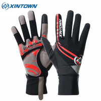 XINTOWN Full Finger Touch Screen Cycling Gloves MTB Bike Bicycle Gloves GEL Padded Outdoor Sport Fitness Gloves Bike Accessories