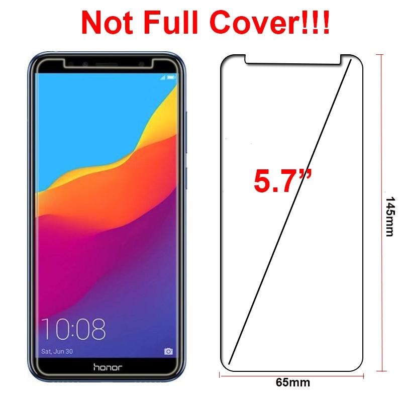 För Huawei Honor 7A Pro 5,7 tums skärmskydd 2.5D 9H härdat glas - Reservdelar och tillbehör för mobiltelefoner - Foto 2