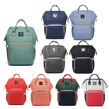 цена на Multi-function Maternal and Child Package Large Capacity Mummy Bag Nappy Backpack Bag Outdoor Travel Diaper Bags For Baby Care