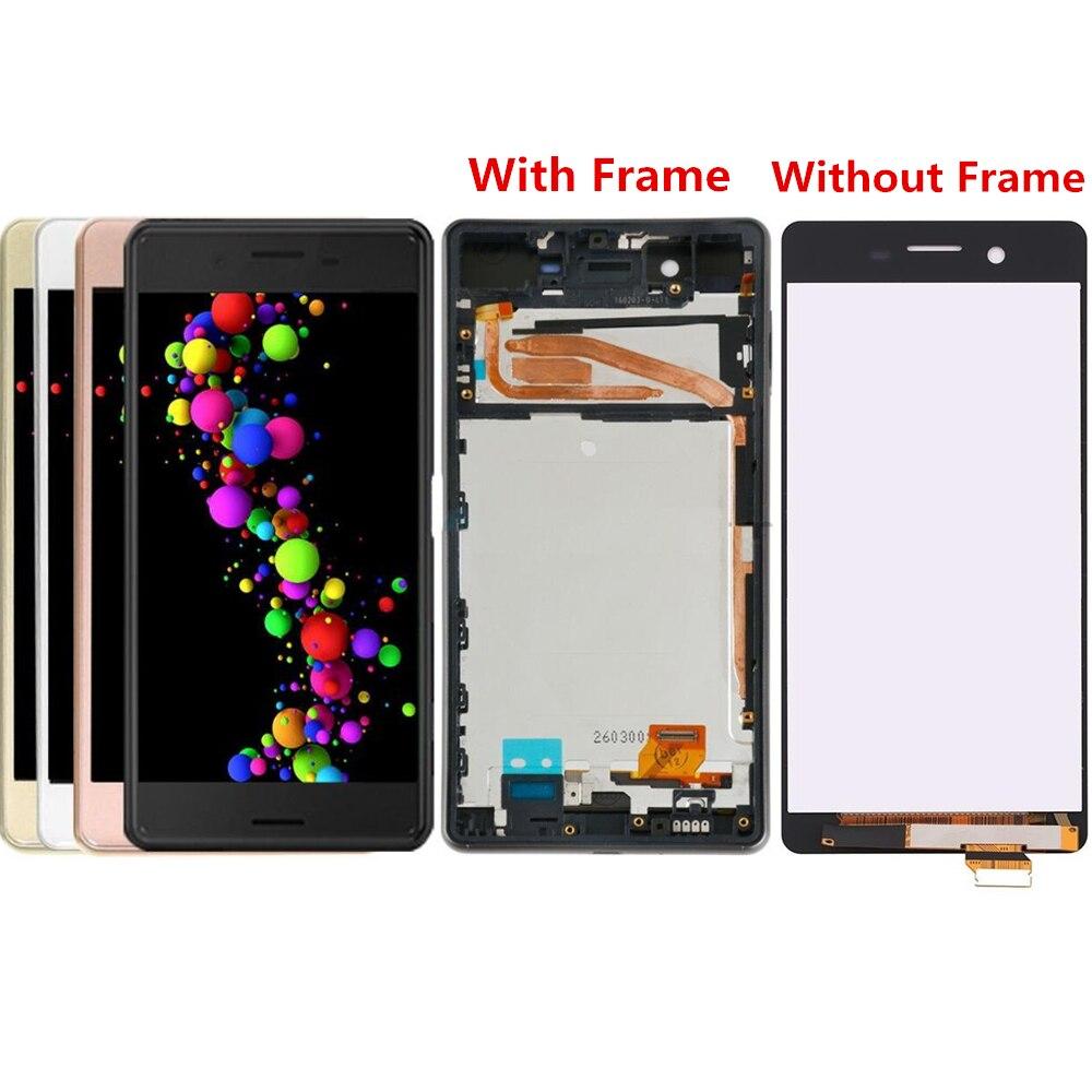 Pour Sony Xperia X F5121 LCD écran LCD et numériseur assemblée avec remplacement du cadre avant!