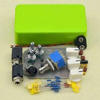 FAI DA TE Tremolo chitarra effetti a pedale kit kit involucro In Alluminio Verde True Bypass per strumento musicale vendita