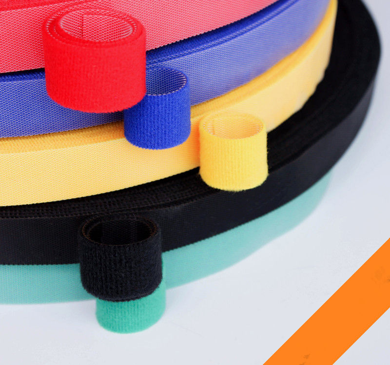 1PCS MT025 5 Colours Hook&loop Nylon Fastening Tape Magic Tape Strap Width 10 mm Cable Tie 5 Meters Injection Hook 1pcs mt025 5 colours hook