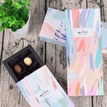 5 Pcs Paper Gift Box Drawer Party Favors Candy Wedding Packaging Sweet Small Present Kraft Cardboard Chocolate Boxes
