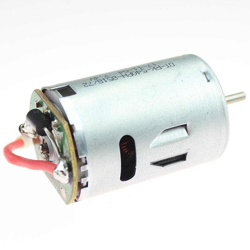 Image 2 - Rc Car Spare Parts 540 Electric Motor 12428 0121 7.4V 540 Motor For Wltoys 12428 12423 Electric Machinery-in Replacement Parts & Accessories from Consumer Electronics