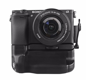 Image 5 - Meike MK A6300 Vertical Multi Power Battery Hand Grip for Sony A6400 A6000 A6100 A6300 Camera