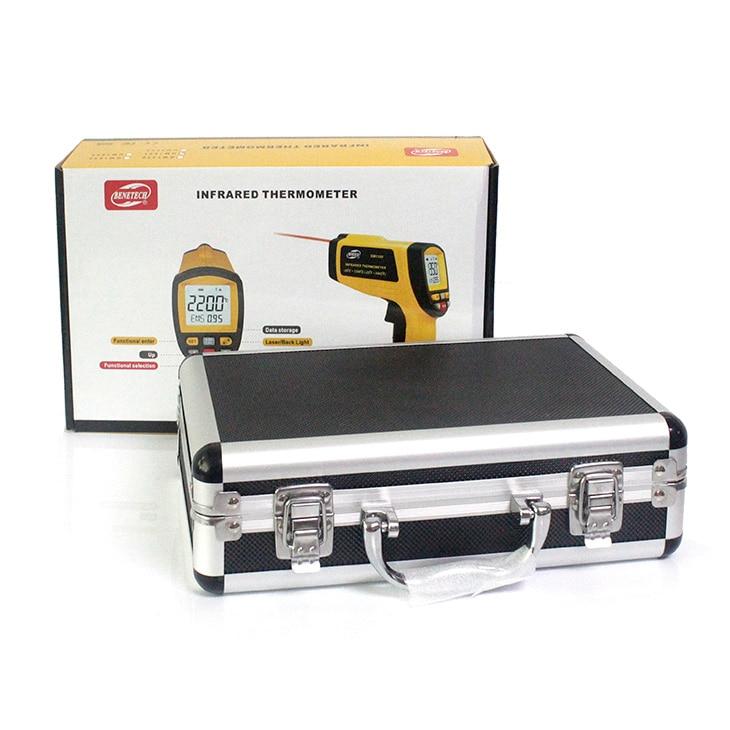 handheld temperature gun handheld infrared temperature sensor accurate non contact thermometer gm1650 Benetech