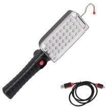 Lampe torche dinspection de travail de lanterne portative de 34 LEDs avec laimant de batterie et lagrafe pour la réparation de voiture de Camping de secours