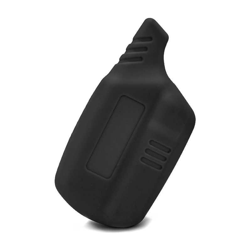 Tampa chave Bugiganga proteja shell B9/B6 Silicone Caso para Starline B9/B91/B6/B61/ a91/A61/V7 LCD 2 Chaveiro Carro Remoto De Alarme Forma
