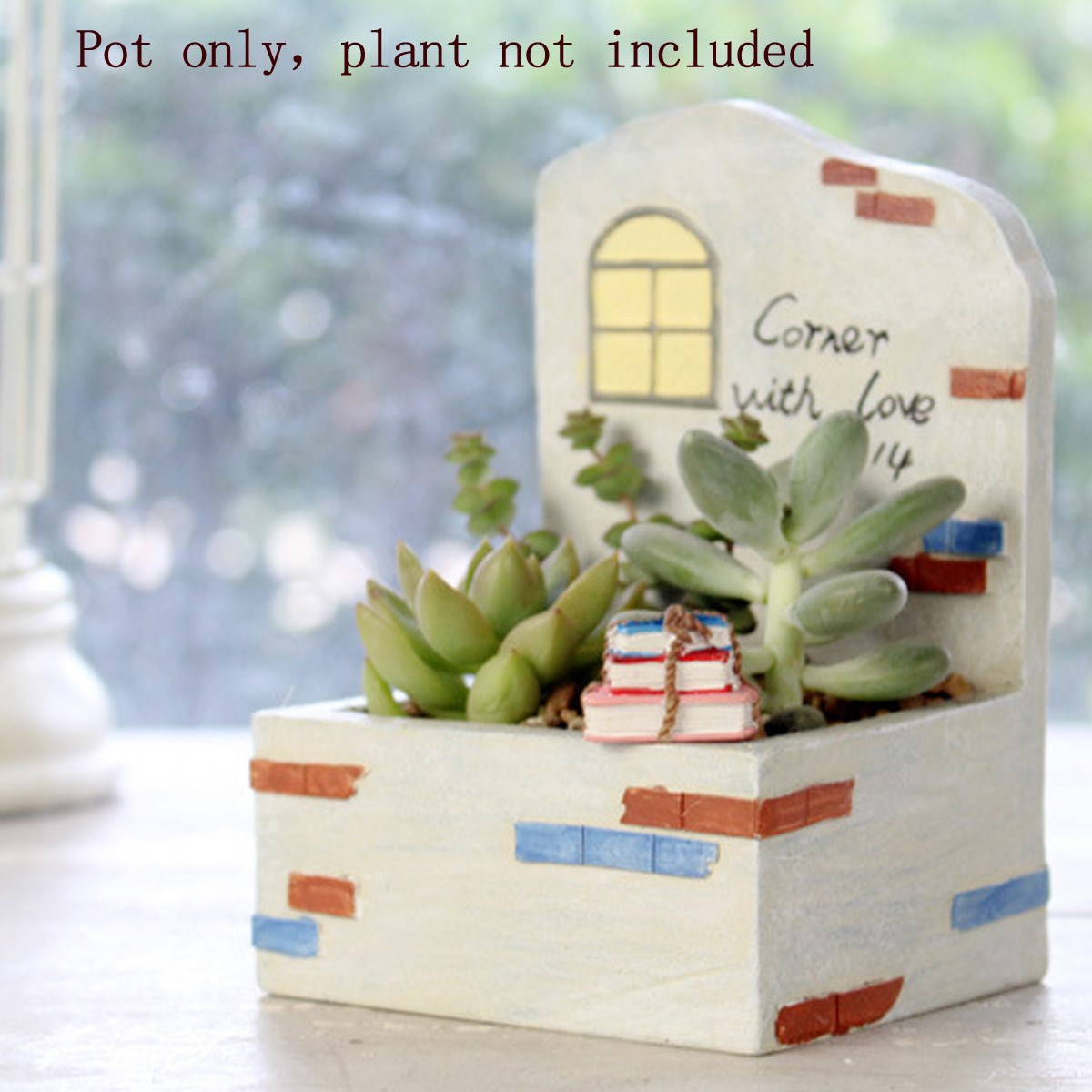 Free Shipping Vintage Rectangle Wood Garden Planter Natural Succulent Pot Wooden Storage Box For Home Decoration