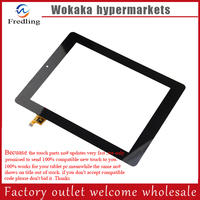 Black 8 Prestigio Multipad PMP7280C 3G PB80DR8357 Tablet Touch Screen Digitizer Glass Sensor Replacement Free Ship