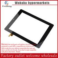 Black 8 Prestigio Multipad PMP7280C 3G PB80DR8357 Tablet Touch Screen Digitizer Glass Sensor Replacement Free Ship