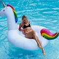 Unicorn Inflatable Unicorn Pool Floal Large Outdoor Swimming Pool Floatie Lounge Toy for Adults & Kids free shipping