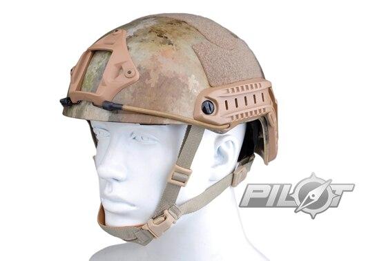 ФОТО 2015 NEW Kryptek Typhon Pilot FAST Helmet Airsoft MH adjustable ABS helmet (PH0601-A-TACS)