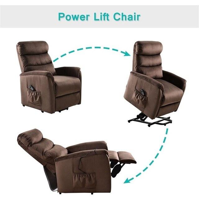 Recliner Chair w/  Footrest 3