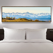 Large Landscape Canvas Wall Art Fantastic Snowy Mountains&Land Print On Canvas Giclee Artwork For Wall Decor Paintings No Frames