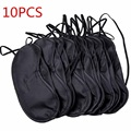 10pcs Eye Shade Night Sleeping Mask Cover Blinder Rest Travel Relax Sleeping Aid Eye Cover Sleeping Mask