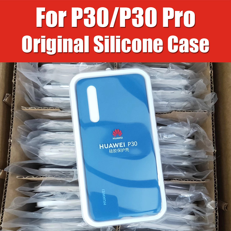 Official 100% Soft Silicon Rubber Compatible With Huawei P30 Pro Case Original Brand 4 Corner Protection Liquid SkinOfficial 100% Soft Silicon Rubber Compatible With Huawei P30 Pro Case Original Brand 4 Corner Protection Liquid Skin