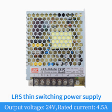 AC/DC Switching Power Supply 100W 24V 4.5A Transformer Regulator Motor Switch LRS-100-24