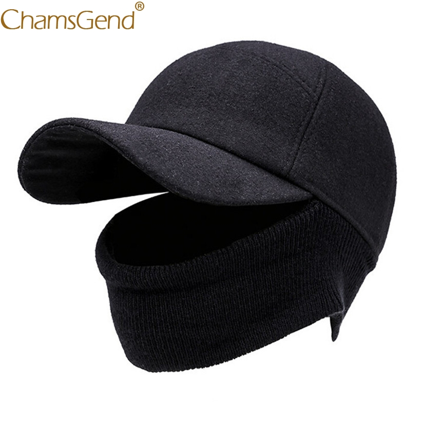 Newly Design Unisex Winter   Baseball     Caps   Women Men Winter Warm Face Mask Hat Elastic Face Cover Warm Head Wraps Men Hat 81109