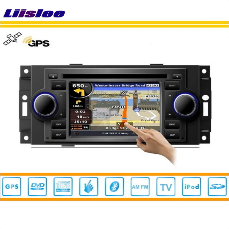 Liislee Car Radio Stereo DVD Player GPS Nav Navigation For Chrysler 300 2004~2007 iPod USB Bluetooth HD Screen Multimedia System