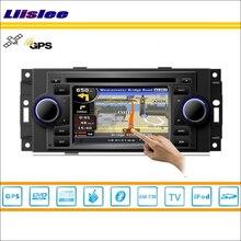 Liislee Car Radio Stereo DVD Player GPS Nav Navigation For Chrysler 300 2004~2007 iPod USB Bluetooth HD Screen Multimedia System